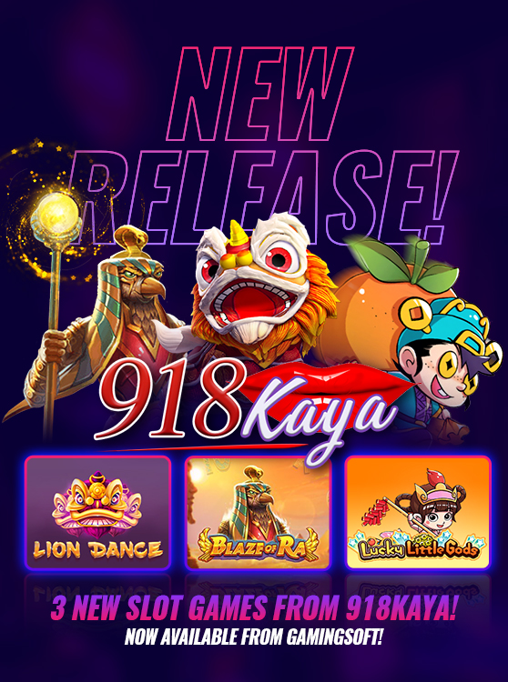 The New Slot Games from 918Kaya are now available at GamingSoft - GamingSoft