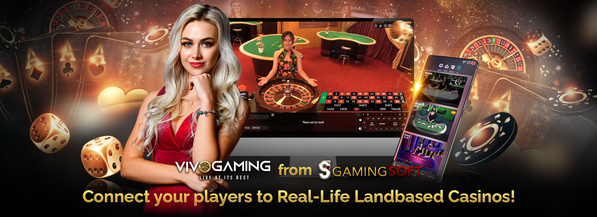 Our Live Casino Partner Vivo Gaming Allows you to Connect Your Region-based Casino Platform to the Global Online Gaming Market - GamingSoft