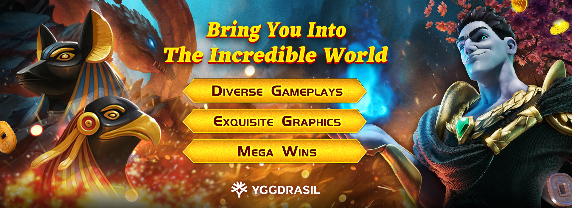 The Online Casino Software Provider Yggdrasil is now available on GamingSoft's vendor dabtabase - GamingSoft