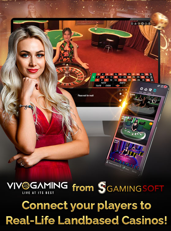 Our Live Casino Partner Vivo Gaming Gives you the Solution to Connect your Player Base to Play Online at Land-based Casino Tables in Real-time - GamingSoft