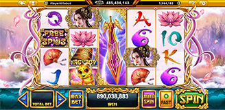 Sacred Relic Slot Game with Chinese Fairy Themed - GamingSoft